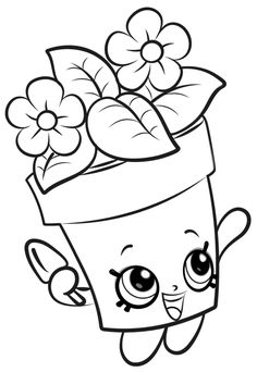 Choc Mint Charlie from shopkins season 6 Chef Club coloring pages printable and coloring book to print for free. Find more coloring pages online for kids and adults of Choc Mint Charlie from shopkins season 6 Chef Club coloring pages to print. Spring Coloring Pages, Cute Coloring Pages, Flower Coloring Pages, Free Coloring, Adult Coloring Pages, Coloring Pages For Kids, Coloring Sheets, Coloring Books, Mandala Coloring
