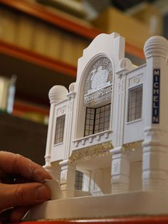 Chisel & Mouse Recreates Miniature Architectural Icons Perfect for Your Coffee Table, via Chisel & Mouse