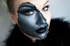 Great makeup for #Halloween