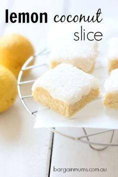 I'm yet to find anyone who doesn't love this no-bake LEMON COCONUT SLICE http://bargainmums.com.au/lemon-coconut-slice