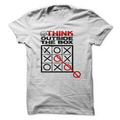Think Outside The Box T Shirts, Hoodies. Check price ==► https://www.sunfrog.com/Funny/Think-Outside-The-Box-Tee.html?41382 $19