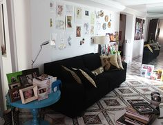 O ateliê/casa da Débora Viana