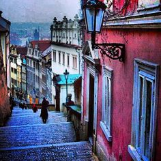 With cobble streets, street lamps, and a rainbow of pastel colours, there's a whole lot to love about pretty little Prague.