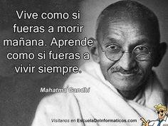 Mahatma Gandhi #motivación #tecnología