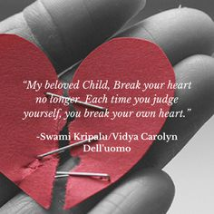 Break Your Heart No Longer: An Exercise to Reduce Shame.  Free LifeForce Yoga Practice.