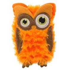 Thrills & Chills™ Pet Halloween Villains Flattie Owl Dog Toy | Toys…