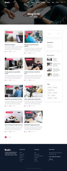 Wordpress Theme Design, Best Wordpress Themes, Corporate Business, Creative Business, Layout Design, Web Design, Design Ideas, Web Mockup, Investment Firms