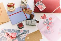 Ideas for gift wrapping vouchers, money, cheques for weddings and other celebrations