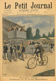 Antique Cycling Prints