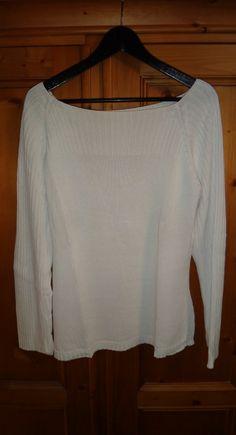 Pull blanc / vêtements / mode