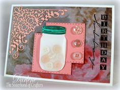 Dar's Crafty Creations: The Sisterhood of Crafters - Buttons