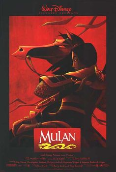 Mulan - Click image to find more Film, Music & Books Pinterest pins
