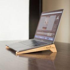 Laptop Tray, Laptop Desk, Laptop Stand, Macbook, Oak Desk, Cardboard Packaging, Cable Organizer, Storage Boxes, Easy Storage
