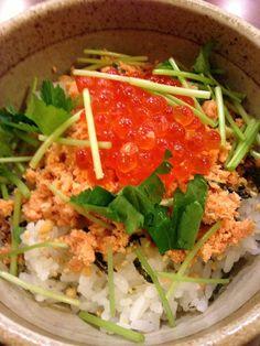Salmon Chazuke 鮭茶漬け