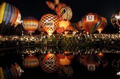 The Great Forest Park Balloon Race, takes place September 20, 21st, 2013