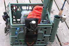 kayak crates   Gallery - Category: Rigged Kayak Photos - Image: my kayak & crate
