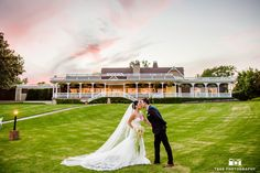 Kissing under the Sunset #weddingphotography / see more at www.truephotography.com