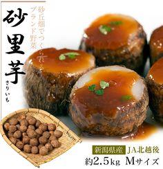 【楽天市場】新潟県産 『砂里芋(さりいも)』 Mサイズ 約2.5kg ☆:築地からの直送便