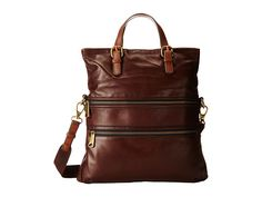 Fossil Explorer Tote Maroon - Zappos.com Free Shipping BOTH Ways