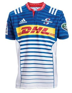 Stormers 16 Home Jersey. Football Shirt Designs, Football Kits, South Africa Rugby, Super Rugby, Sublime Shirt, Home And Away, Rugby Jerseys, Rugby Shirts, Adidas