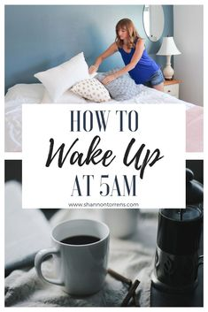 How To Wake Up at 5AM - What I quickly realized is there is something magical about waking up before everyone else. Waking up at 5am is easier with the 5 tips discussed below. #5am #wakeupearly #earlyrise #productive #productivity