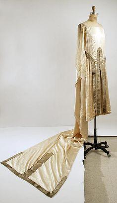 Wedding Dress Made By Paul Poiret (French, Paris 1879-1944)   c.1925  -  The Metropolitan Museum Of Art