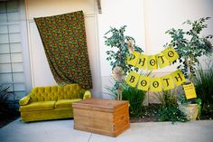 Outdoors Photo Booth Display