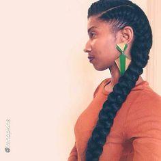Cute & simple goddess braids