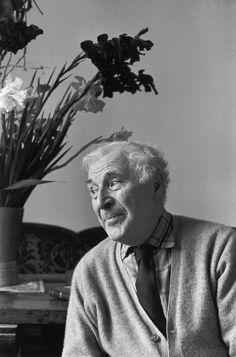 Henri Cartier-Bresson, Marc Chagall, 1964. © Henri Cartier-Bresson/Magnum Photos.