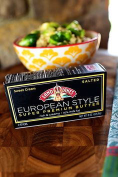 Crispy Brussels sprouts, paired with the rich, nutty flavor of browned #EuroStyleButter turn a regular risotto into an extra-special dish. Thanks, @thepioneerwoman!#GotItFree and #EuroStyleButter