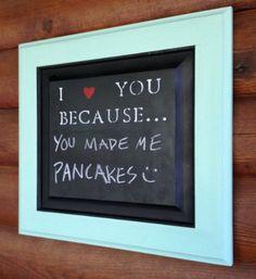 H A N D M A D E // Turquoise I Love You Because... on etsy