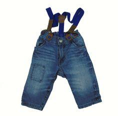 """Pantalón vaquero de 6 meses de H&M-3,75€.Prenda de segunda mano """"supernueva"""" de nuestra tienda online. Ropa de la mejores marcas a precios insignificantes www.charamusco.com"""