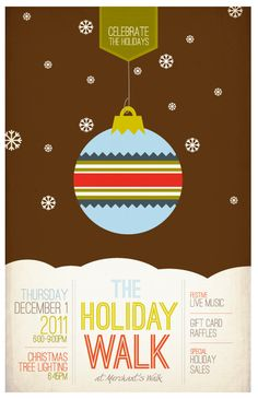 Holiday Poster 2 of 4.