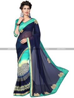Blue Weightless Lovely Casual Saree