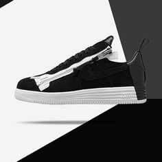 """Instagram의 HYPEBEAST님: """"@erlsn.acr of Berlin-based apparel brand #ACRNM has joined forces with @nikelab for a technical take on the classic Air Force 1 Low silhouette."""""""