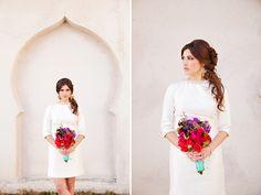 Classy & chic... Princess Jasmine wedding shoot.