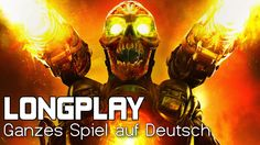 DOOM ▶ Ganzes Spiel auf Deutsch ● German Longplay ● Walkthrough