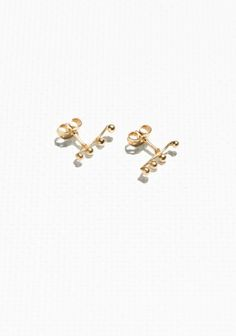 & Other Stories | Crawler Earrings | Gold