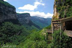 Gorges de la Bourne, Vercors, France