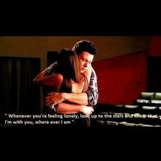 Glee. Oh if only he knew how true this would be. A young life tragically taken too soon. My heart goes out to his family along with his fiance and costar Lea Michele❤