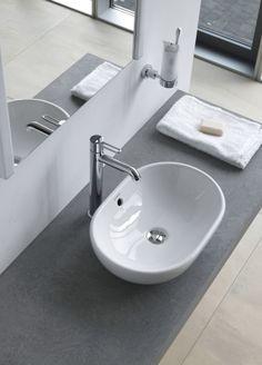 Duravit - Bad Serie: Aufsatzbecken - Aufsatzbecken und Waschtische von Duravit. I love this sink
