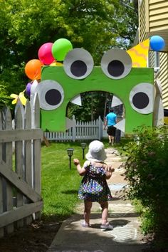 cute monster balloons - Google Search