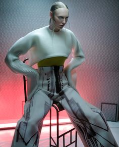 secret4 by X-presion #fashion #editorial #futuristic