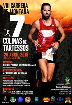 El 29 de abril hay una cita con la VIII carrera de montaña 7 Colinas de Tartessos en Camas. Tendrá un recorrido de 16,5Km siendo la salida a las 9:30 #carrera7colinastartessos #deportescamas #depsevilla