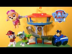 PAW PATROL Nickelodeon Paw Patrol Fix Play Doh Candy Cyclone a Paw Patrol Play Doh Video - YouTube