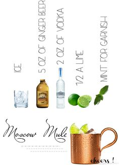 Moscow Mule recipe for John & his new mugs !