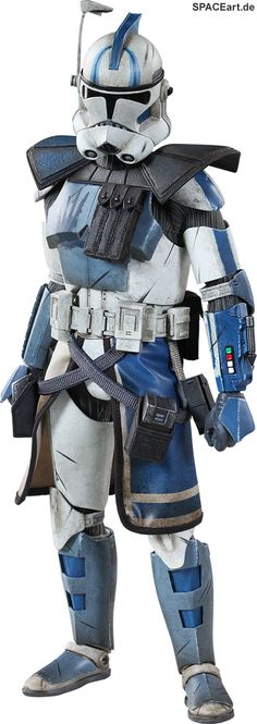 Arc Clone Trooper Echo Phase II Armor