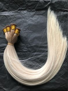 Hand Tied Weft gorgeous Ash Blonde Color Melt on Etsy for immediate shipment. 112 Grams of pure remy double drawn hair. Weft Hair Extensions, Real Human Hair Extensions, Blonde Color, Ash Blonde, Best Hair Care Products, Dull Hair, Light Blonde, Hair Weft, Bad Hair Day