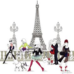 Up next my pen is ready :))) Paris Illustration, Illustration Sketches, Poodles, Street Art, Fashion Sketches, Fashion Illustrations, Art Illustrations, Smart Art, Fashion Figures