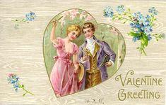 victorian valentines | with pretty women Vintage Victorian Valentines Victorian Valentine ...